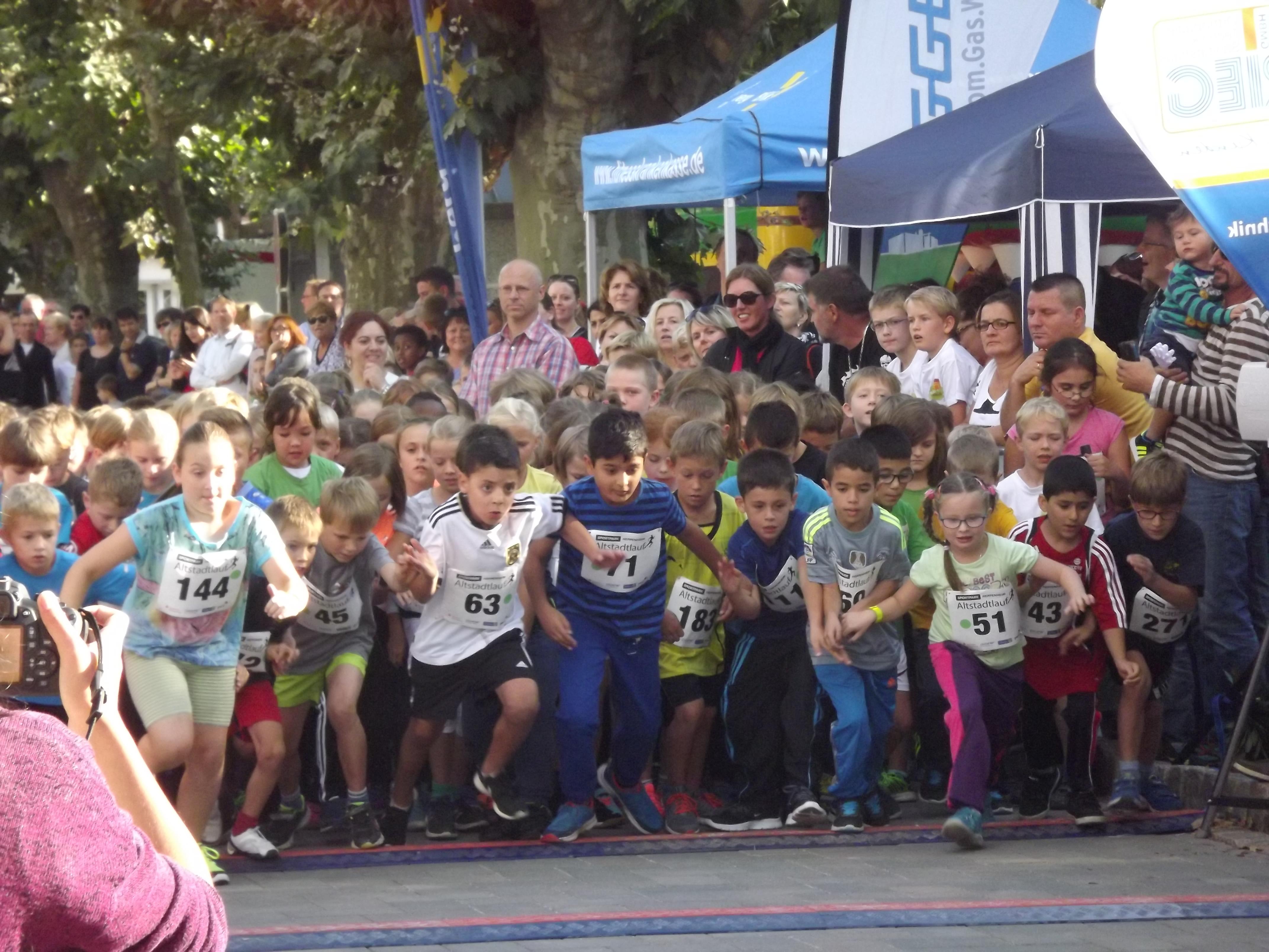 Sportpark Heppenheim Altstadtlauf 2015