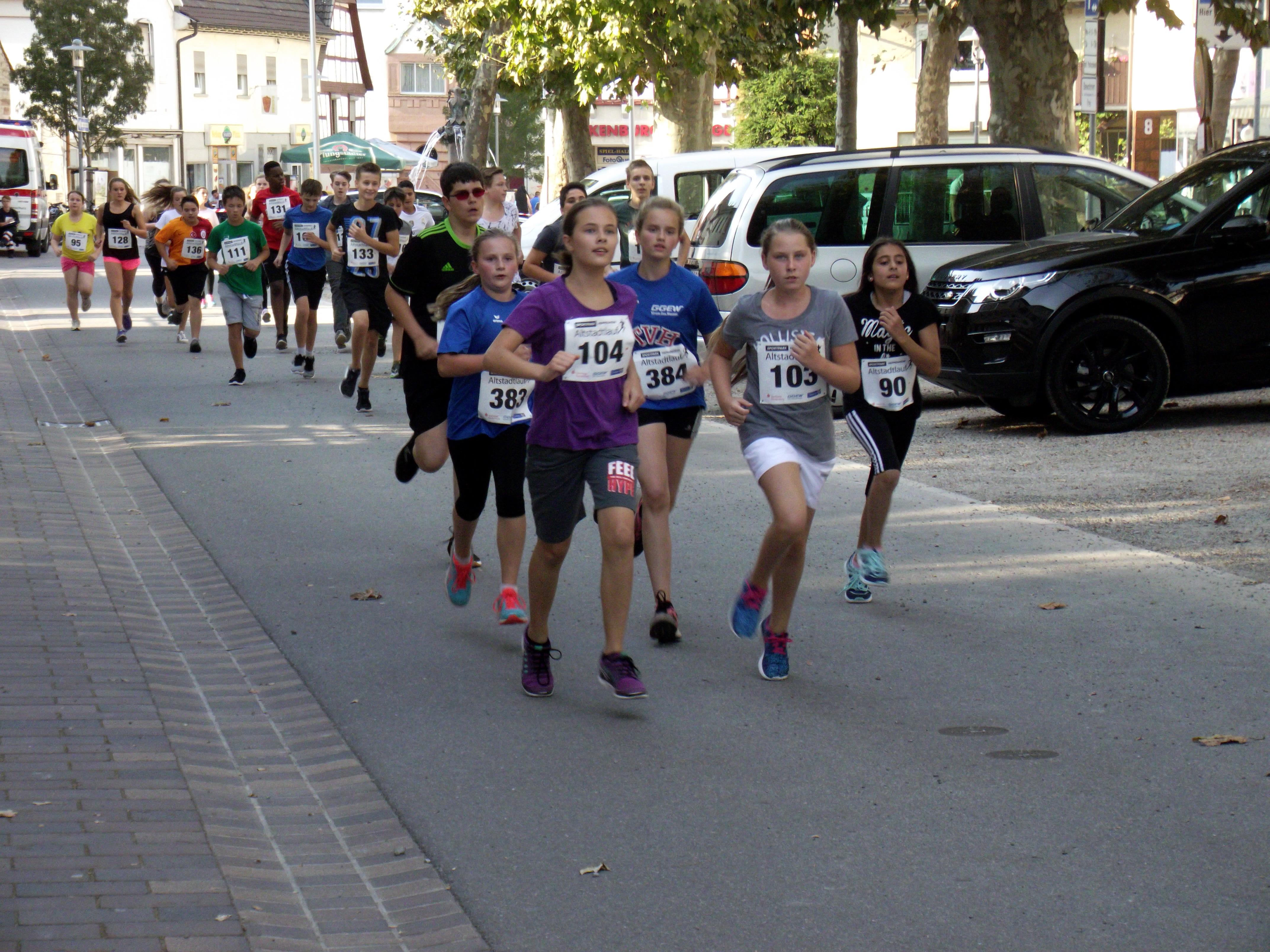Sportpark Heppenheim Altstadtlauf 2016